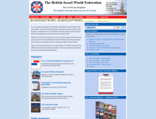 britishisrael.co.uk screenshot