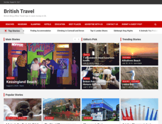 britishtraveler.co.uk screenshot