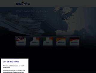brittany-ferries.com screenshot