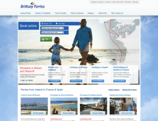 brittanyferries.ie screenshot