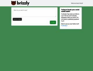 brizzly.com screenshot