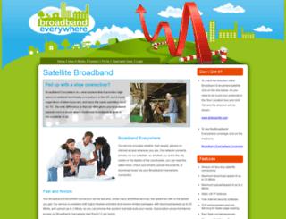 broadbandeverywhere.co.uk screenshot