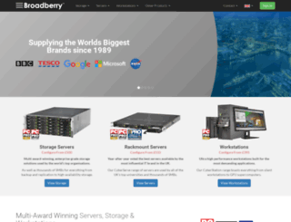 broadberry.co.uk screenshot