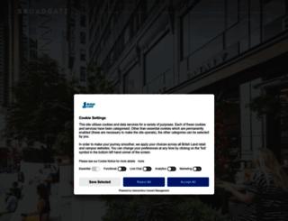 broadgate.co.uk screenshot