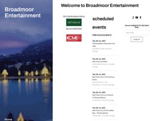 broadmoorentertainment.com screenshot