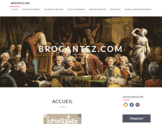 brocantez.com screenshot