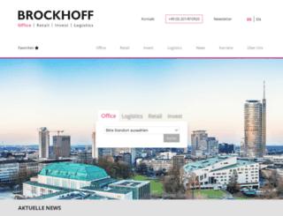 brockhoff.de screenshot