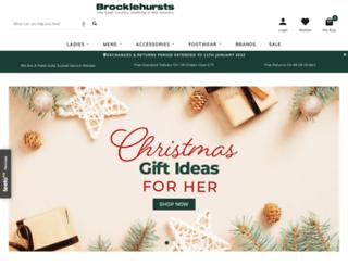 brocklehursts.com screenshot