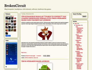 brok3ncircuit.blogspot.com screenshot