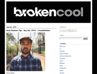 brokencool.com screenshot