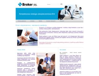 broker-ibl.pl screenshot