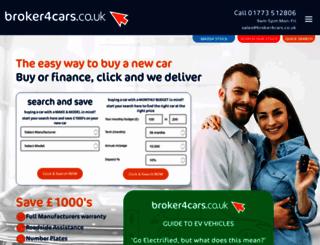 broker4cars.co.uk screenshot