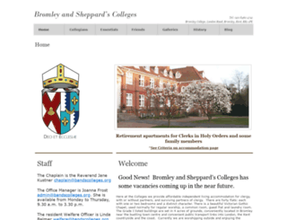 bromleyandsheppardscolleges.com screenshot
