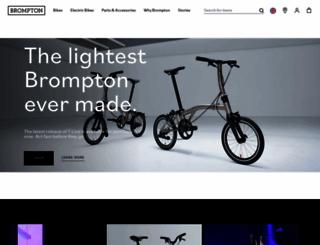 brompton.com screenshot