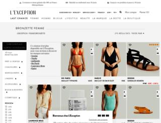 bronzette.lexception.com screenshot