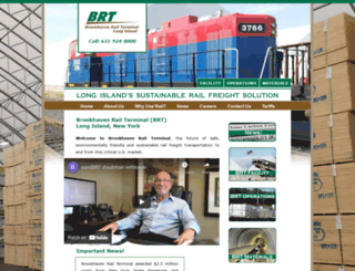 brookhavenrailterminal.com screenshot