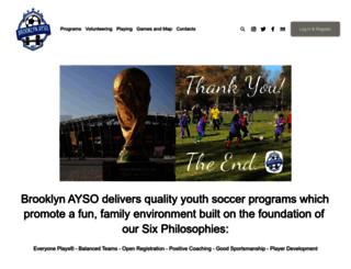 brooklynayso.org screenshot