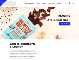 brooklynbiltong.com screenshot