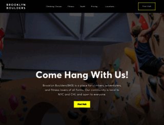 brooklynboulders.com screenshot