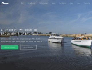 broomboats.com screenshot