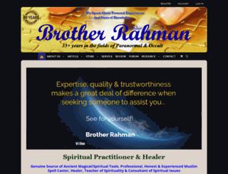 brotherrahman.net screenshot