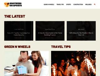 brothersonsports.com screenshot