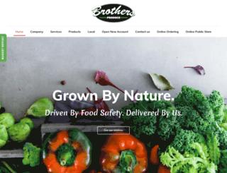 brothersproduce.com screenshot