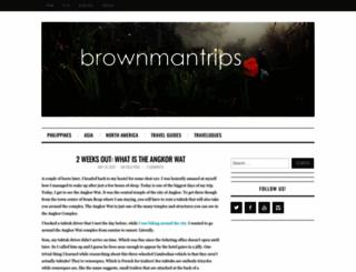 brownmantrips.com screenshot