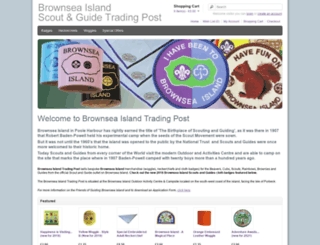 brownsea-island.org.uk screenshot