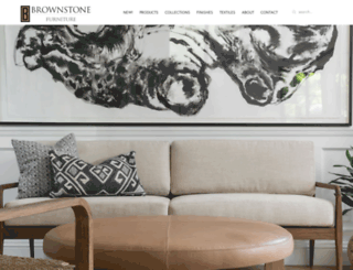 brownstonefurniture.com screenshot
