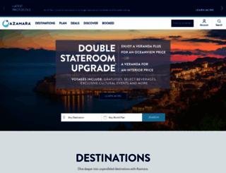 browse.azamaraclubcruises.com screenshot