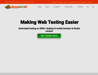 browseemall.com screenshot