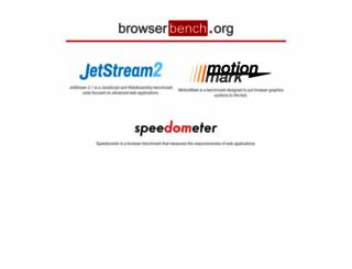 browserbench.org screenshot
