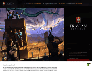 browsergame.travian.cl screenshot