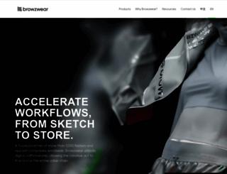 browzwear.com screenshot
