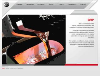 brp-castings.com screenshot