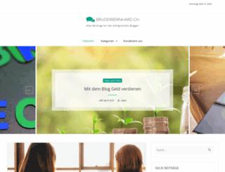 bruderbernhard.ch screenshot