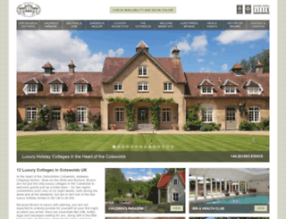 bruerncottages.com screenshot