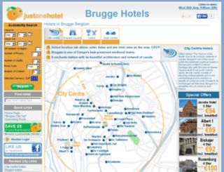 bruggehotels.co.uk screenshot