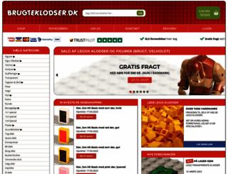 brugteklodser.dk screenshot