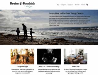 bruisesandbandaids.com screenshot