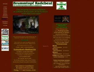 brummtopf-radebeul.de screenshot