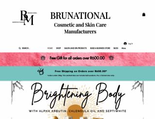 brunational.co.za screenshot