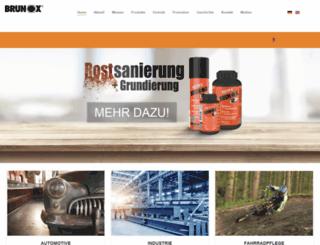 brunox.com screenshot