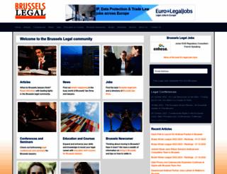 brusselslegal.com screenshot