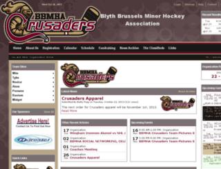 brusselsminorhockey.ca screenshot