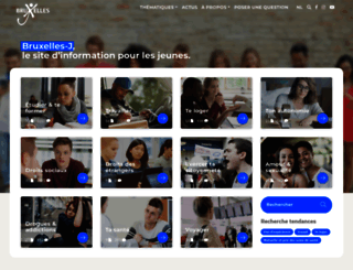 bruxelles-j.be screenshot
