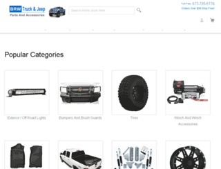 brwtruck.com screenshot