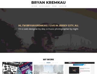 bryankremkau.com screenshot