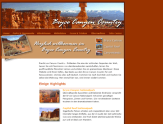 brycecanyoncountry.info screenshot